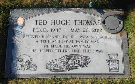 THOMAS, TED HUGH - Polk County, Oregon | TED HUGH THOMAS - Oregon Gravestone Photos