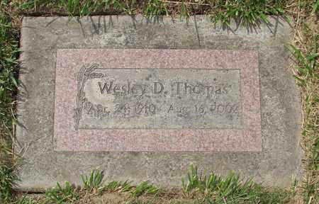 THOMAS, WESLEY D - Polk County, Oregon   WESLEY D THOMAS - Oregon Gravestone Photos