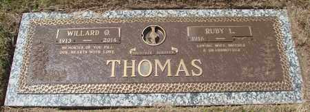 THOMAS, RUBY L - Polk County, Oregon | RUBY L THOMAS - Oregon Gravestone Photos