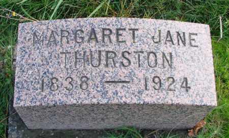 THURSTON, MARGARET JANE - Polk County, Oregon   MARGARET JANE THURSTON - Oregon Gravestone Photos