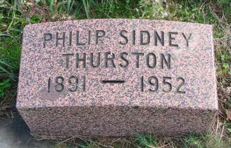 THURSTON, PHILIP SIDNEY - Polk County, Oregon | PHILIP SIDNEY THURSTON - Oregon Gravestone Photos