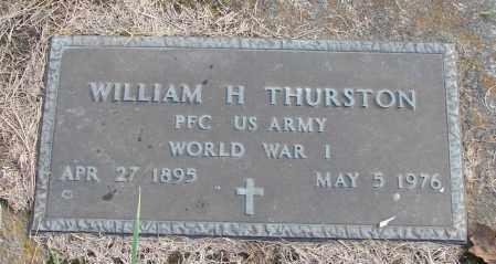 THURSTON, WILLIAM H - Polk County, Oregon | WILLIAM H THURSTON - Oregon Gravestone Photos