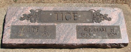 WHALEY TICE, MAUDE LOUELLA - Polk County, Oregon   MAUDE LOUELLA WHALEY TICE - Oregon Gravestone Photos
