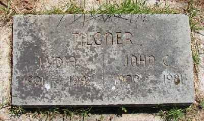 TILGNER, JOHN CHARLES - Polk County, Oregon   JOHN CHARLES TILGNER - Oregon Gravestone Photos