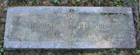 LEWIS, HERSHEL - Polk County, Oregon | HERSHEL LEWIS - Oregon Gravestone Photos