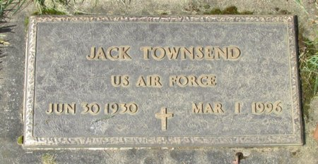 TOWNSEND, JACK - Polk County, Oregon | JACK TOWNSEND - Oregon Gravestone Photos