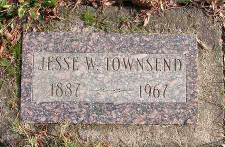 TOWNSEND, JESSE W - Polk County, Oregon | JESSE W TOWNSEND - Oregon Gravestone Photos