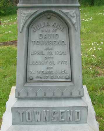 TOWNSEND, JULIA ANN - Polk County, Oregon | JULIA ANN TOWNSEND - Oregon Gravestone Photos