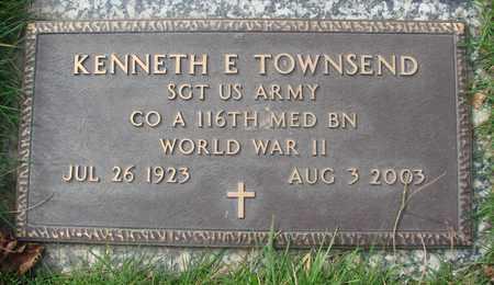 TOWNSEND, KENNETH E - Polk County, Oregon | KENNETH E TOWNSEND - Oregon Gravestone Photos