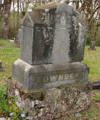 TOWNSEND, MONUMENT - Polk County, Oregon   MONUMENT TOWNSEND - Oregon Gravestone Photos