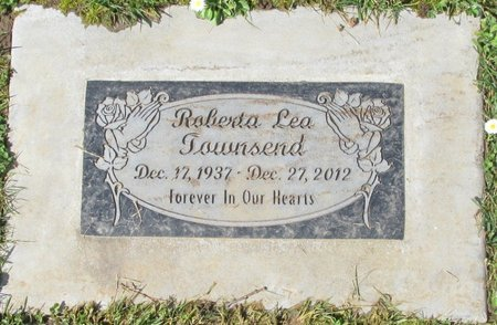 TOWNSEND, ROBERTA LEA - Polk County, Oregon | ROBERTA LEA TOWNSEND - Oregon Gravestone Photos