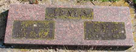 TRAVIS, JENNIE M - Polk County, Oregon | JENNIE M TRAVIS - Oregon Gravestone Photos