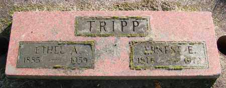 TRIPP, ERNEST E - Polk County, Oregon | ERNEST E TRIPP - Oregon Gravestone Photos