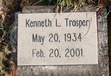 TROSPER, KENNETH L - Polk County, Oregon | KENNETH L TROSPER - Oregon Gravestone Photos