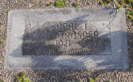 TROSPER, OPAL I - Polk County, Oregon   OPAL I TROSPER - Oregon Gravestone Photos