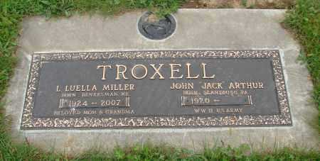 TROXELL (WWII, JOHN ARTHUR - Polk County, Oregon | JOHN ARTHUR TROXELL (WWII - Oregon Gravestone Photos