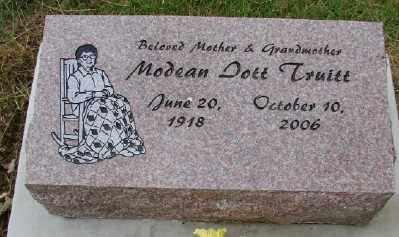 IOTT TRUITT, MODEAN - Polk County, Oregon | MODEAN IOTT TRUITT - Oregon Gravestone Photos