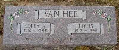 VAN HEE, EDITH A - Polk County, Oregon   EDITH A VAN HEE - Oregon Gravestone Photos