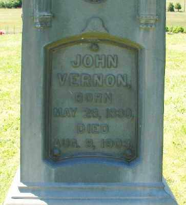 VERNON, JOHN - Polk County, Oregon   JOHN VERNON - Oregon Gravestone Photos