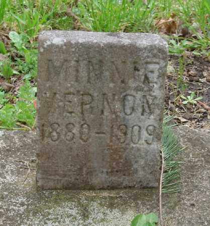 VERNON, MINNIE - Polk County, Oregon   MINNIE VERNON - Oregon Gravestone Photos