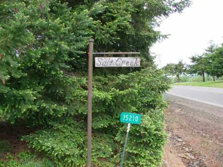 VIEW, SALT CREEK CEMETERY SIGN - Polk County, Oregon | SALT CREEK CEMETERY SIGN VIEW - Oregon Gravestone Photos