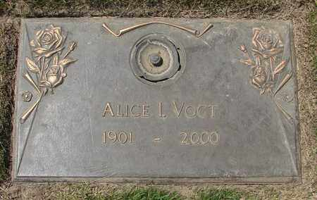 VOGT, ALICE I - Polk County, Oregon | ALICE I VOGT - Oregon Gravestone Photos
