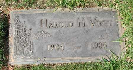 VOGT, HAROLD H - Polk County, Oregon | HAROLD H VOGT - Oregon Gravestone Photos