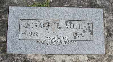 VOTH, GRACE E - Polk County, Oregon | GRACE E VOTH - Oregon Gravestone Photos