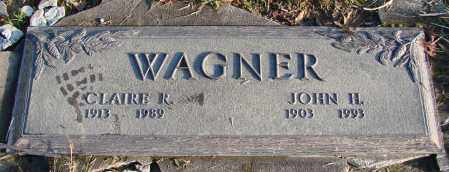 WAGNER, CLAIRE R - Polk County, Oregon | CLAIRE R WAGNER - Oregon Gravestone Photos