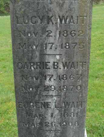 WAIT, LUCY K - Polk County, Oregon | LUCY K WAIT - Oregon Gravestone Photos