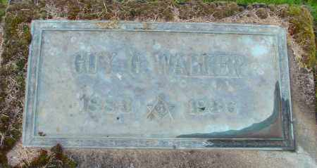 WALKER, GUY G - Polk County, Oregon   GUY G WALKER - Oregon Gravestone Photos