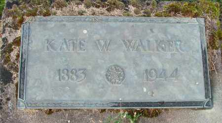WALKER, KATE W - Polk County, Oregon | KATE W WALKER - Oregon Gravestone Photos