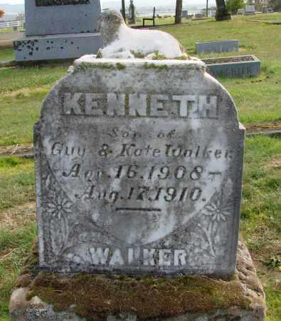 WALKER, KENNETH - Polk County, Oregon | KENNETH WALKER - Oregon Gravestone Photos