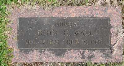 WALL, JOHN H - Polk County, Oregon | JOHN H WALL - Oregon Gravestone Photos