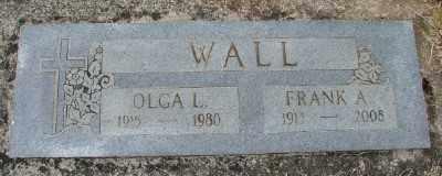 WALL, OLGA L - Polk County, Oregon | OLGA L WALL - Oregon Gravestone Photos
