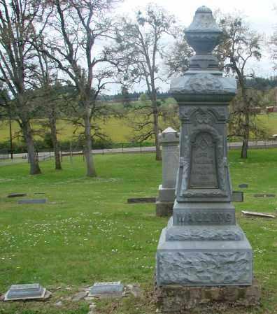 WISE WALLING, ELIZA ANN - Polk County, Oregon | ELIZA ANN WISE WALLING - Oregon Gravestone Photos