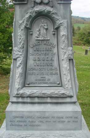 WALLING, NANCY MARIA - Polk County, Oregon | NANCY MARIA WALLING - Oregon Gravestone Photos