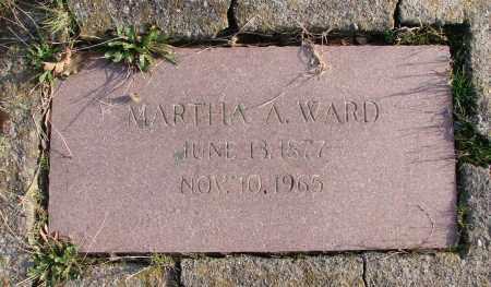 WARD, MARTHA A - Polk County, Oregon   MARTHA A WARD - Oregon Gravestone Photos