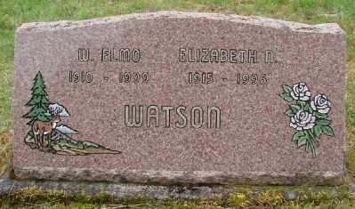 WATSON, WILBUR ELMO - Polk County, Oregon   WILBUR ELMO WATSON - Oregon Gravestone Photos