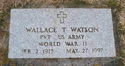 WATSON (WWII), WALLACE TAYLOR - Polk County, Oregon   WALLACE TAYLOR WATSON (WWII) - Oregon Gravestone Photos