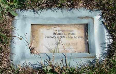 WATTS, PRESTON - Polk County, Oregon | PRESTON WATTS - Oregon Gravestone Photos