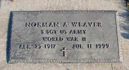 WEAVER, NORMAN A - Polk County, Oregon   NORMAN A WEAVER - Oregon Gravestone Photos