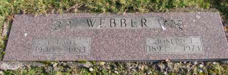 WEBBER, LELA O - Polk County, Oregon | LELA O WEBBER - Oregon Gravestone Photos