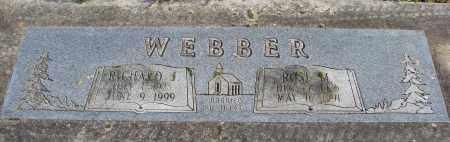 WEBBER, ROSE M - Polk County, Oregon   ROSE M WEBBER - Oregon Gravestone Photos