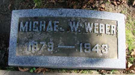 WEBER, MICHAEL W - Polk County, Oregon   MICHAEL W WEBER - Oregon Gravestone Photos