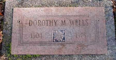 WELLS, DOROTHY M - Polk County, Oregon | DOROTHY M WELLS - Oregon Gravestone Photos
