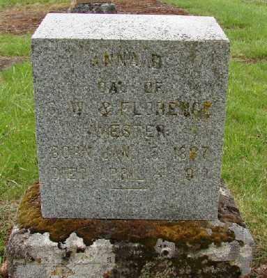 WESTER, ANNA D - Polk County, Oregon   ANNA D WESTER - Oregon Gravestone Photos
