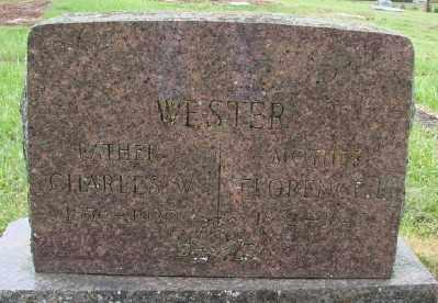 WESTER, CHARLES WESLEY - Polk County, Oregon | CHARLES WESLEY WESTER - Oregon Gravestone Photos