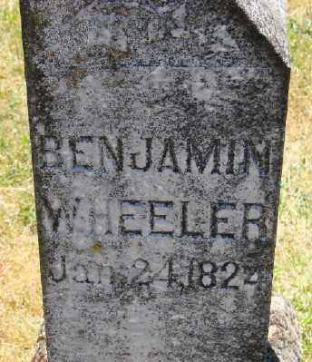 WHEELER, BENJAMIN - Polk County, Oregon | BENJAMIN WHEELER - Oregon Gravestone Photos