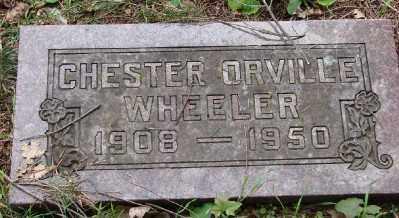 WHEELER, CHESTER ORVILLE - Polk County, Oregon | CHESTER ORVILLE WHEELER - Oregon Gravestone Photos